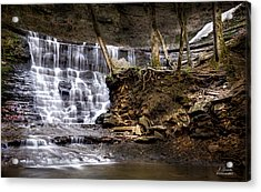 Fall Hollow Falls Natchez Trace Parkway Tennessee Acrylic Print