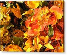 Fall In Bloom Acrylic Print