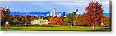 Fall In Denver Colorado Acrylic Print