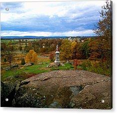 Fall In Gettysburg Acrylic Print