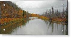 Fall In Glacier National Park Acrylic Print