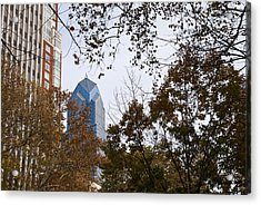 Fall In Philly Acrylic Print