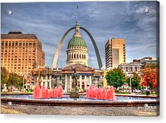 Acrylic Print featuring the photograph Fall In St. Louis by Deborah Klubertanz
