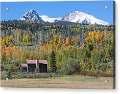 Fall In Summit County Acrylic Print by Andrew Serff