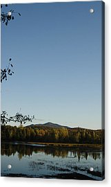 Fall In The Adirondacks Acrylic Print