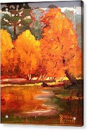 Fall  Acrylic Print by Jenell Richards