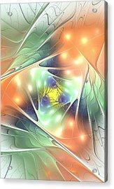 Fall Kaleidoscope Acrylic Print