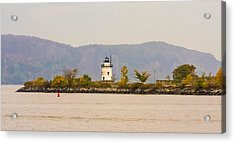 Fall Lighthouse Acrylic Print