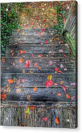 Fall Morning Acrylic Print by Marianna Mills