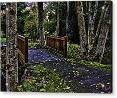 Fall Morning Acrylic Print by Ron Roberts