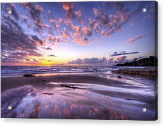 Fall Ocean Colors Acrylic Print