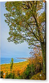 Fall On Alligator Hill Acrylic Print