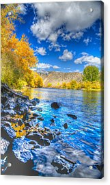 Acrylic Print featuring the photograph Fall On The Big Hole River  by Kevin Bone