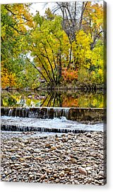 Fall On The Poudre Acrylic Print