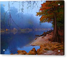 Fall On The Suwannee River Acrylic Print