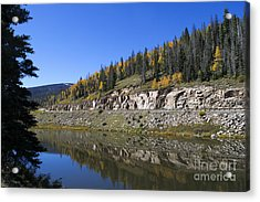 Fall On Wolf Creek Pass Acrylic Print by Jerry McElroy