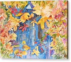 Fall Palette Acrylic Print