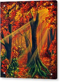 Fall Rays Acrylic Print
