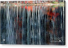 Fall Reflection 1 Acrylic Print by Rich Killion