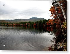Fall Reflection II Acrylic Print by Christiane Schulze Art And Photography