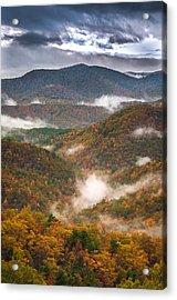 Fall Ridges Acrylic Print