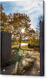 Fall Through The Gate Acrylic Print