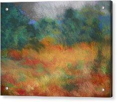 Fall Tonal Landscape Acrylic Print