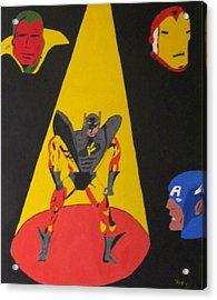 Fallen Hero  Acrylic Print