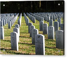 Fallen Heroes Acrylic Print