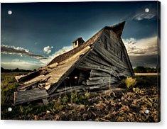 Fallen Acrylic Print by Thomas Zimmerman