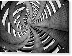 Rollercoaster Acrylic Print by Az Jackson