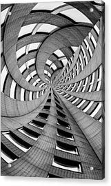 Falling Into Acrylic Print by Az Jackson