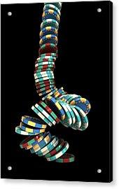 Falling Casino Acrylic Print by Allan Swart