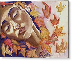 Falling Acrylic Print