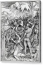 Falling Of The Ensisheim Meteorite Acrylic Print