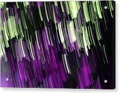 Falling Purple Acrylic Print by Eiwy Ahlund