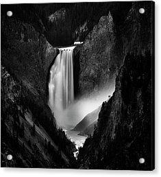 Falling Rivers Acrylic Print