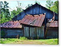 Falling To Pieces Acrylic Print by Joe Bledsoe