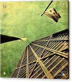 Falling Up Acrylic Print by Andrew Paranavitana