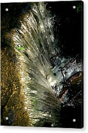 Falling Water Acrylic Print by Phil Nolan