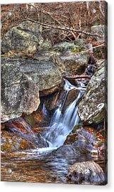 Fallingwater Cascades 22 Acrylic Print