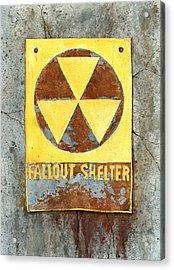 Fallout Shelter #2 Acrylic Print