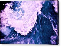 Acrylic Print featuring the photograph Falls Abstract by HweeYen Ong