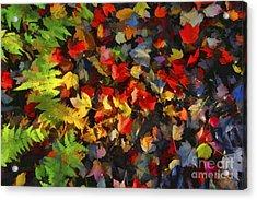Falls Color Palette Acrylic Print by Dan Friend
