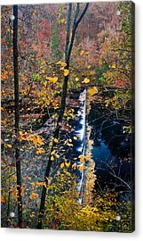 Falls In The Fall Acrylic Print