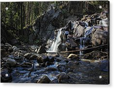 Falls In The Forest Acrylic Print