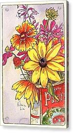 Fall's Last Bouquet Acrylic Print