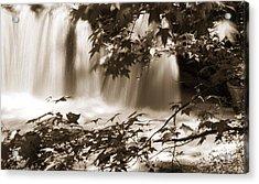 Falls Acrylic Print by Linda Olsen