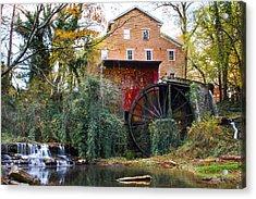 Falls Mill Acrylic Print