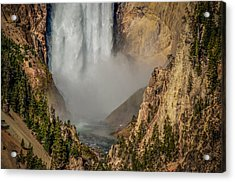 Falls Mist Acrylic Print by Yeates Photography